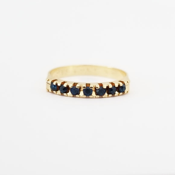 Sapphire Stackable Ring
