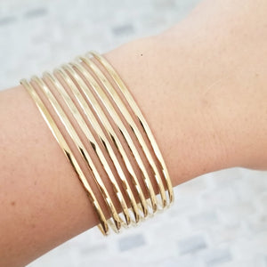 Solid Bangle Set