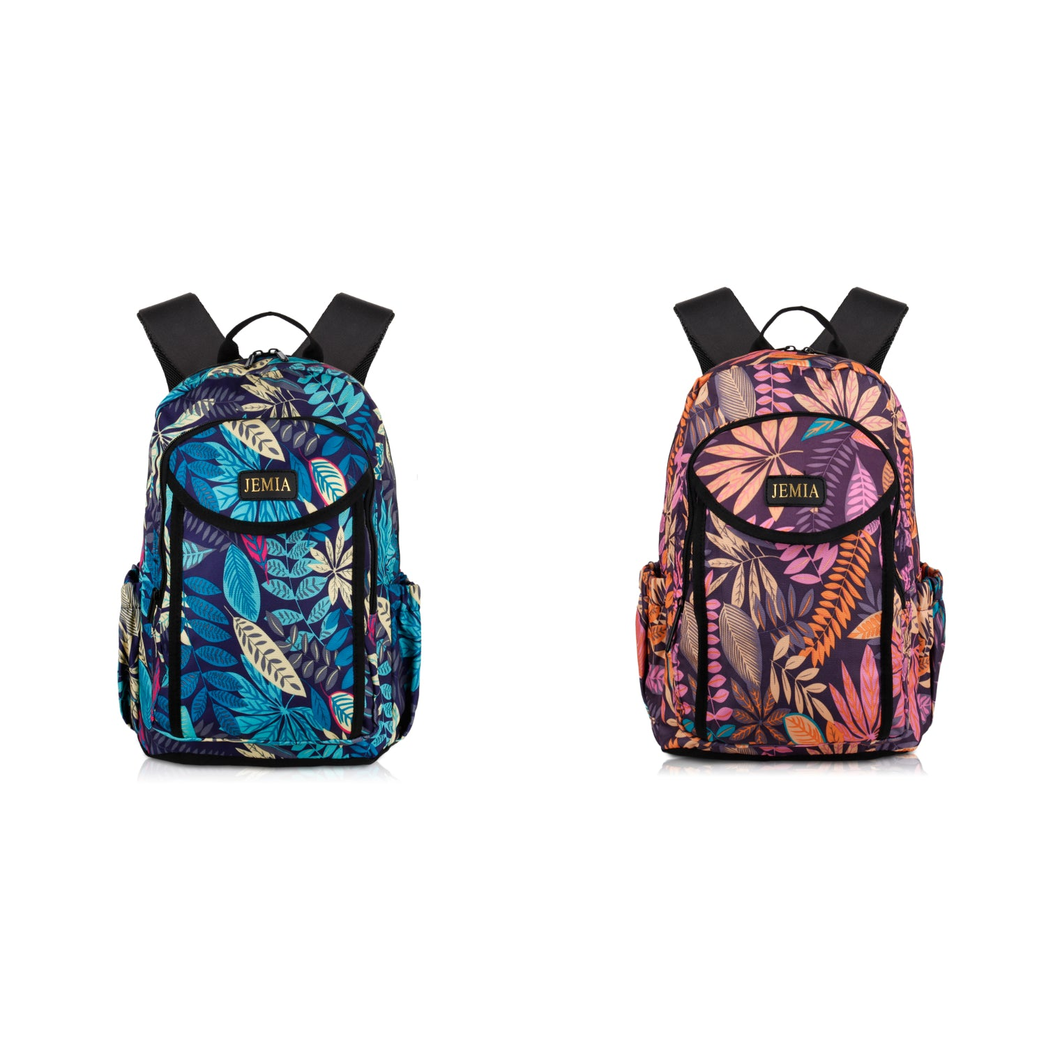24 LITTERS MULTI COMPARTMENTS BACKPACK WITH LEAVES STYLE AND LAPTOP SLEEVE HOLDER