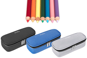 Three New Color Variation for Plain Pencil Case with Open Flip Style