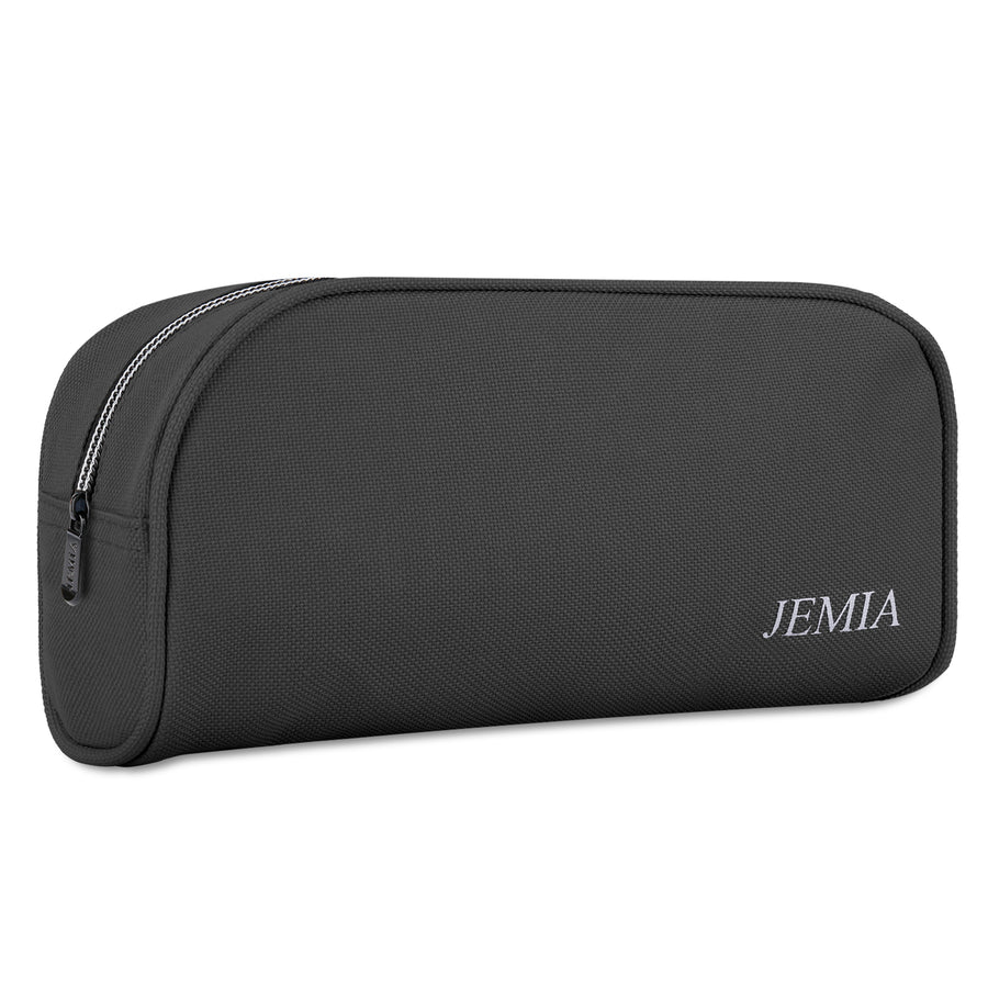 Plain Pencil Case with Small Zipper and Mesh Pockets in The Compartment - JEMIA Industrial Co. Ltd