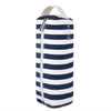 Stripes Canvas Pencil Case with Handle - JEMIA Industrial Co. Ltd