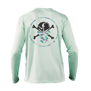 Pastel Camouflage Buff Performance Shirt