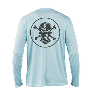 Classic Logo Performance Shirt - Flats Pirate Fishing Apparel