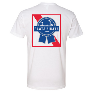 Flats Pirate Fishing PBR T-shirt - Flats Pirate Fishing Apparel