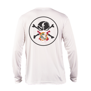 Florida Flag Buff Performance Shirt - Flats Pirate Fishing Apparel