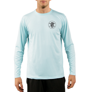 Solid Logo Performance Shirt - Flats Pirate Fishing Apparel