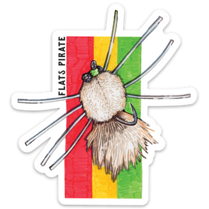 Rasta Fly Sticker