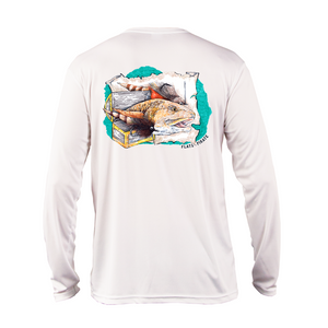 Tailing Treasure Performance Shirt - Flats Pirate Fishing Apparel