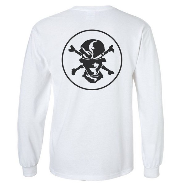 White 'Classic' T-shirt Long Sleeve