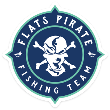 Flats Pirate Fishing Team Sticker
