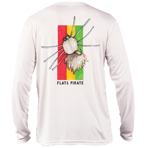 Rasta Fly Performance Shirt - Flats Pirate Fishing Apparel