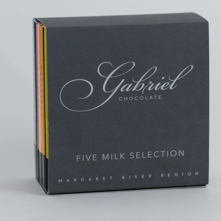 Milk Chocolate Pack - 5 bars