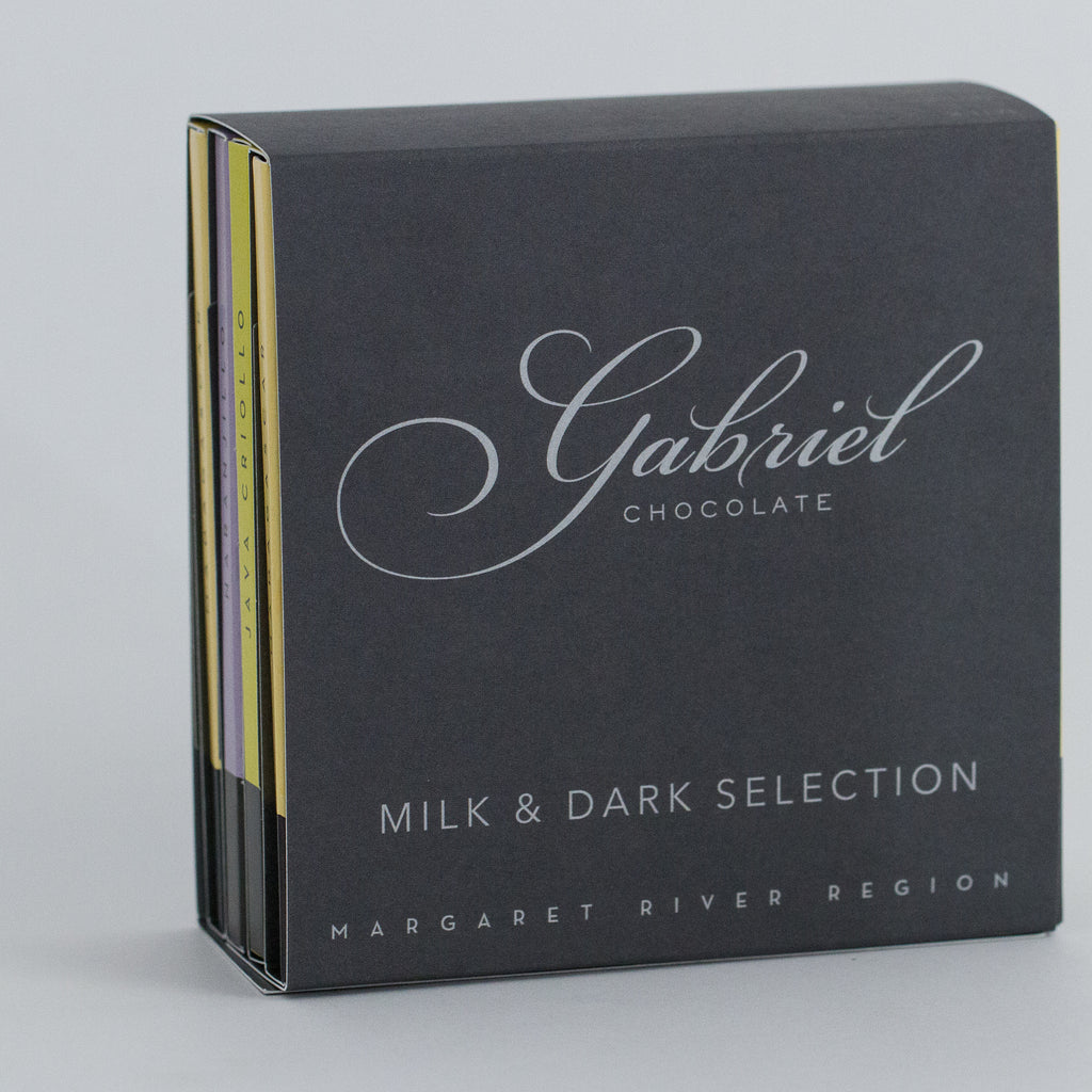 Milk & Dark Chocolate Pack - 4 bars