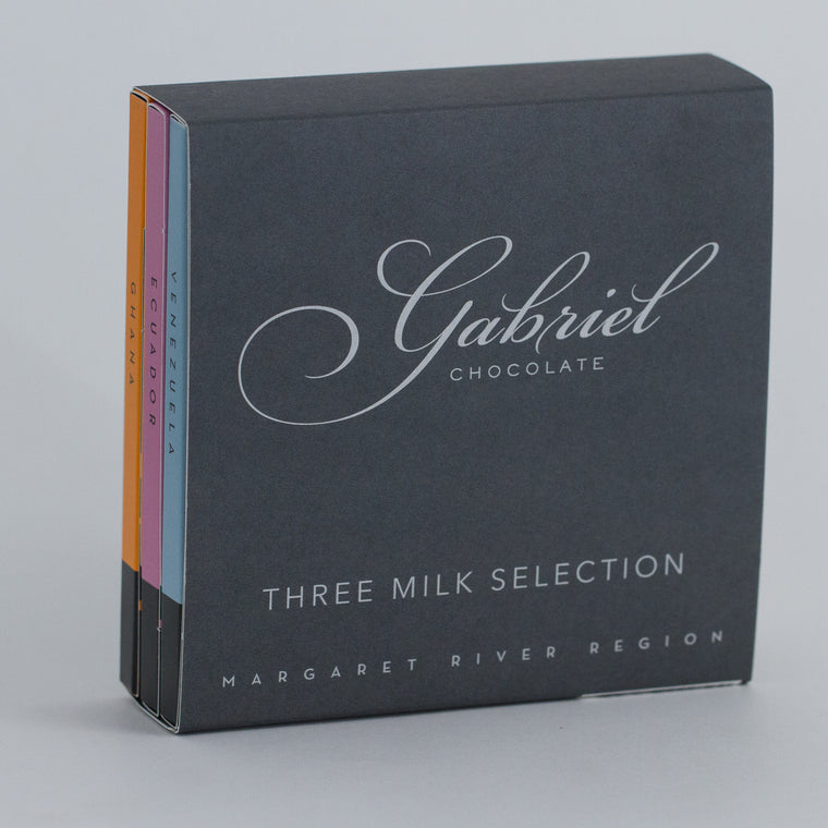 Milk Chocolate Pack - 3 bars