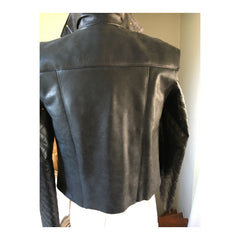 Leather Jacket Back