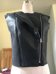 Leather Jacket Sewing
