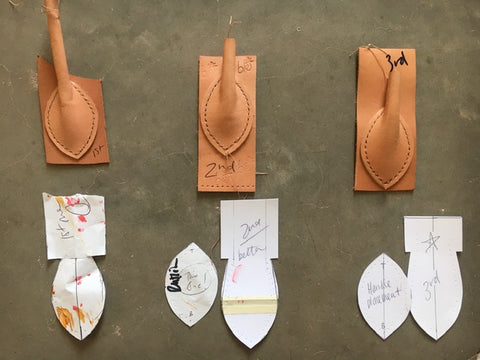 Leather Handles Patternmaking Templates How Make Leatherwork