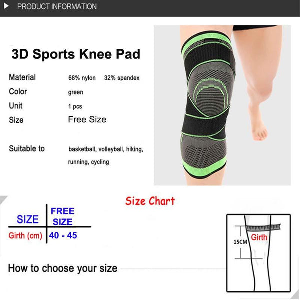 CHEAPEST 3D SPORT KNEE PAD