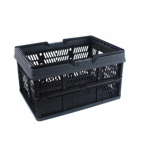 Cheapest and Best Reviews for Multifunction Storage Shopping Basket Black Gray at trendingvip.com