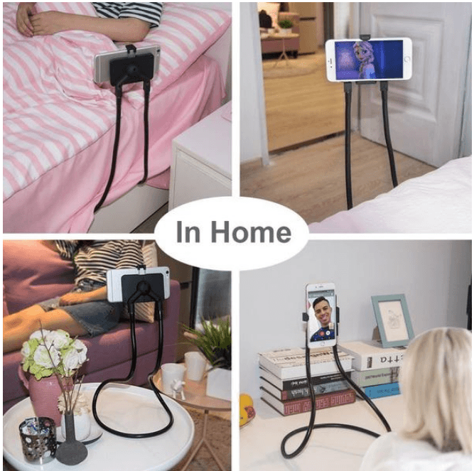 Cheapest and Best Reviews for Lazy Gooseneck Phone & Tablet Holder  at trendingvip.com
