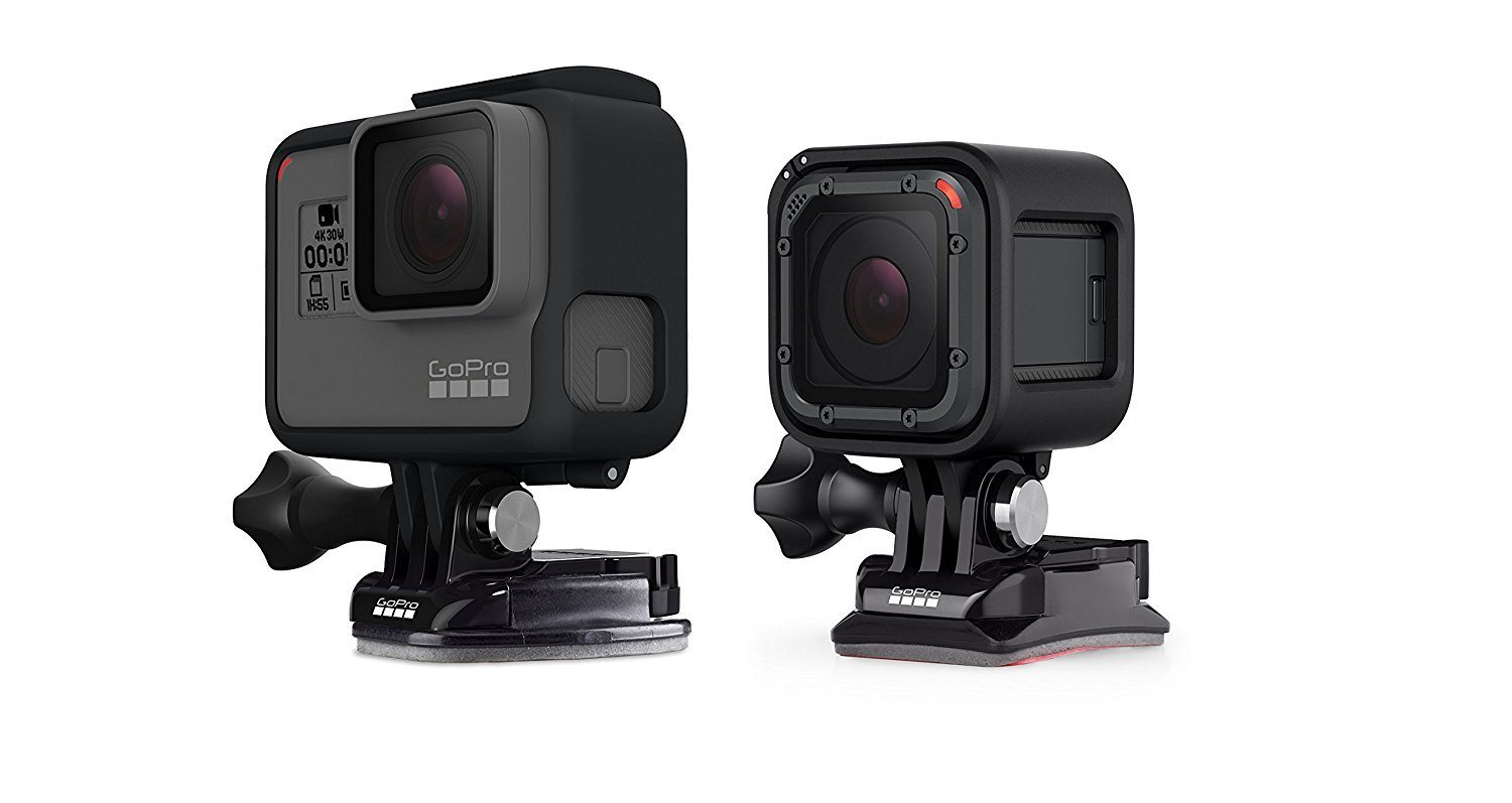 Cheapest and Best Reviews for GoPro Flat + Curved Adhesive Mounts  at trendingvip.com