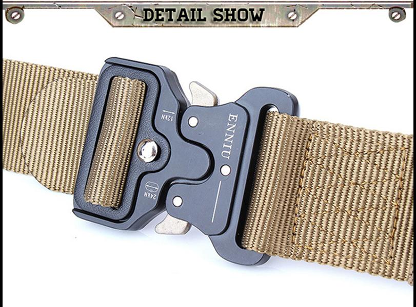 Cheapest and Best Reviews for Heavy Duty Military Buckle Belt  at trendingvip.com