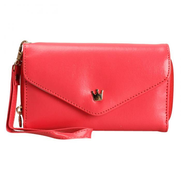 Cheapest and Best Reviews for 3 In 1 Smart Pouch Wallet Red at trendingvip.com