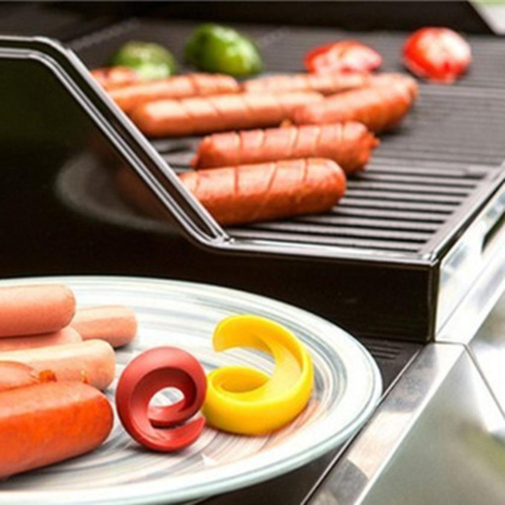 Cheapest and Best Reviews for 2pcs Spiral Sausage Cutter  at trendingvip.com