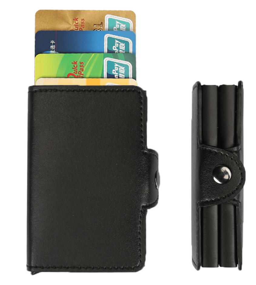 Cheapest and Best Reviews for LUXURY CARD ORGANIZER WALLET Black at trendingvip.com