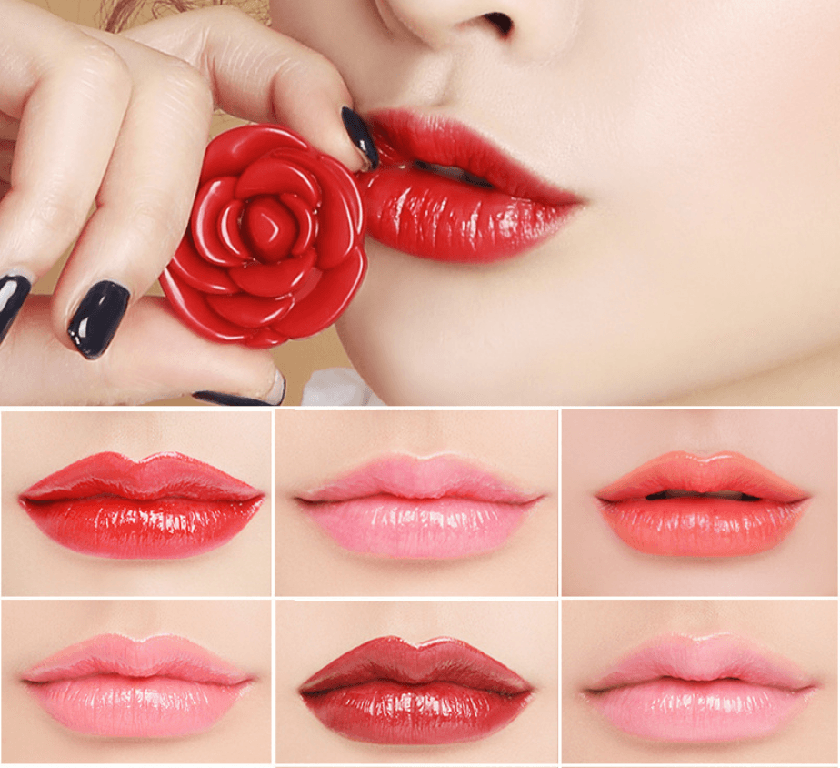 Cheapest and Best Reviews for Rosey Lip Colour Kiss Red at trendingvip.com