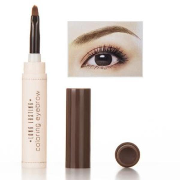 Cheapest and Best Reviews for 2 in 1 Eyebrow Makeup Kit Light coffee at trendingvip.com
