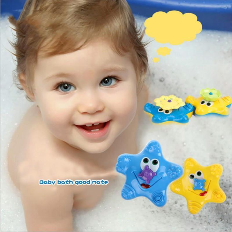 Cheapest and Best Reviews for Starfish Fountain Bath Toy  at trendingvip.com