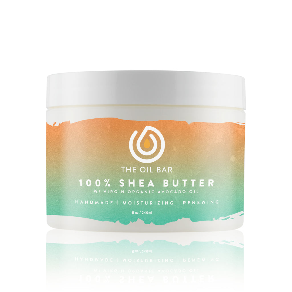 100% Shea Butter infused with CBD Oil