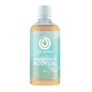 Cappuccino Fragrance Body Oil 100ml