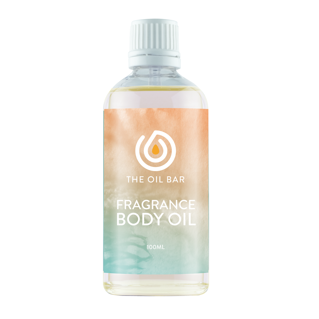 Agave Lime Fragrance Body Oil 100ml