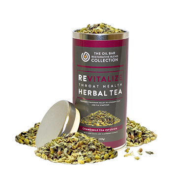 Revitalize Throat Health Chamomile Tea Infusiton