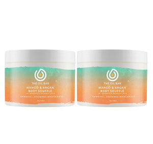 Mango & Argan Body Souffle (2pack)