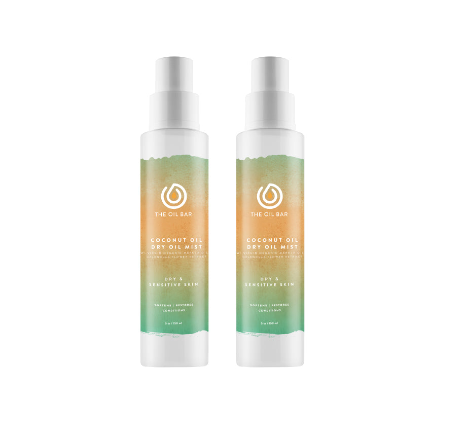 Coconut Oil Dry Oil Mist (2 pack)