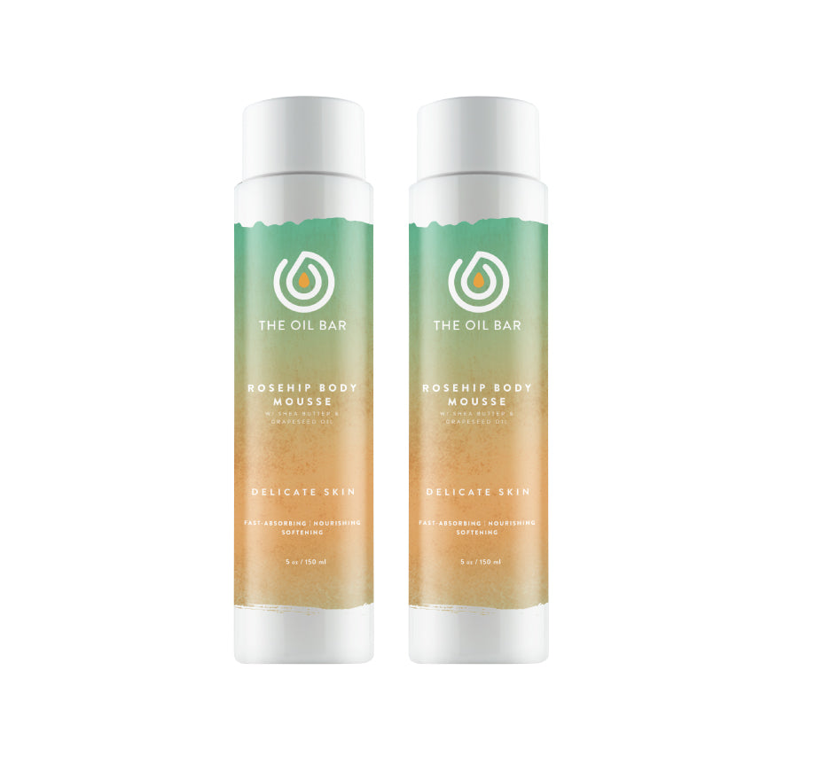 Rosehip Body Mousse (2 pack)