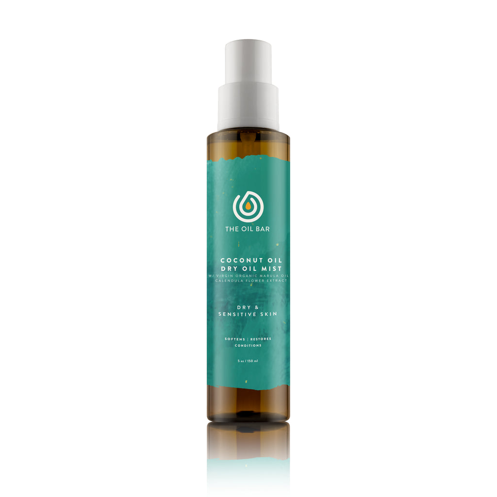 Aromatherapy Coconut Oil Dry Oil Mist