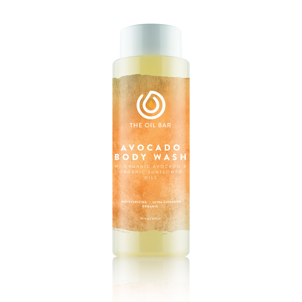 Avocado Body Wash infused with CBD Oil