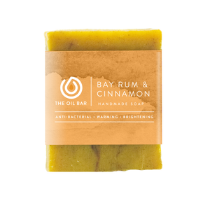Bay Rum & Cinnamon All Natural Soap