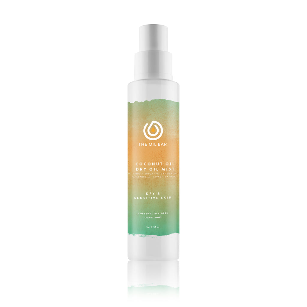 Coconut Oil Dry Oil Mist infused with CBD Oil