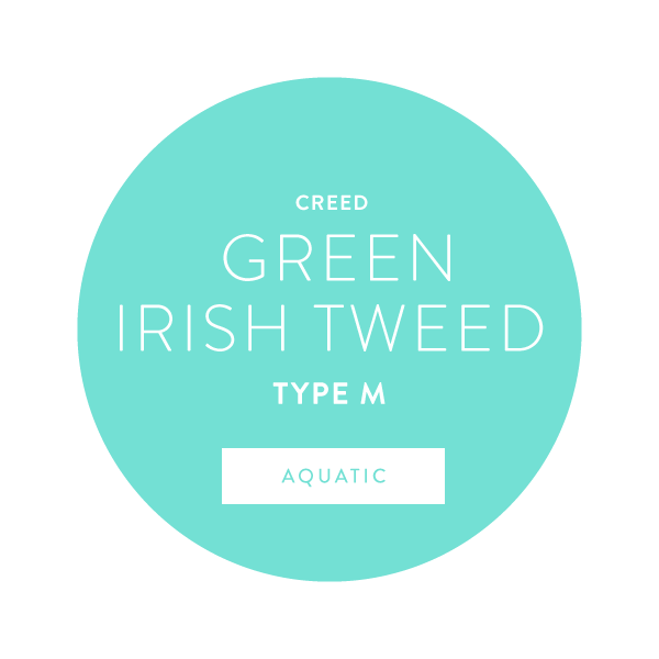 Creed Green Irish Tweed Type M