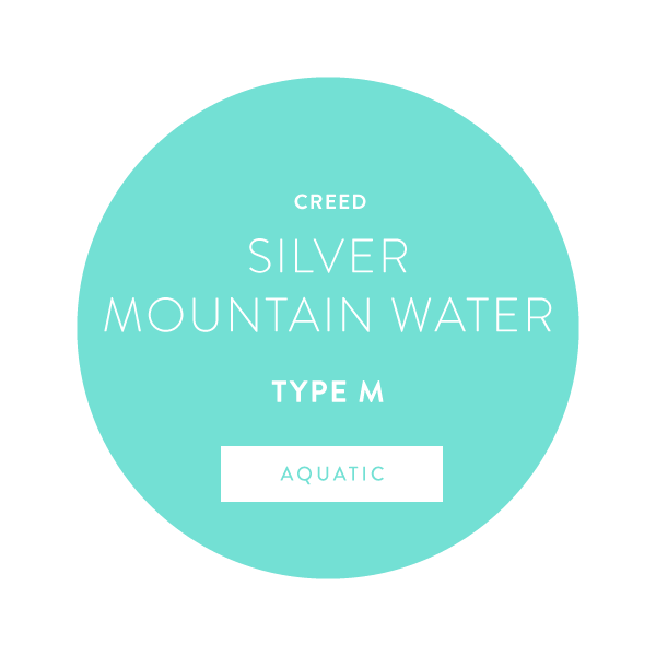 Creed Silver Mountain Water Type M