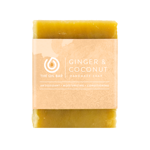Ginger & Coconut All Natural Soap