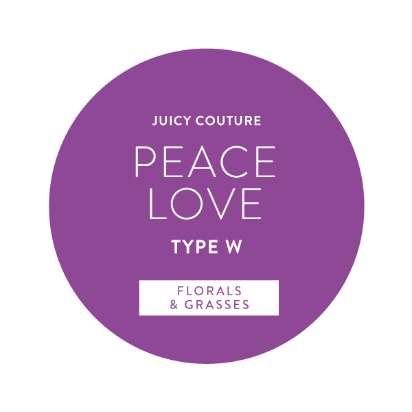 Juicy Couture Peace Love Type W