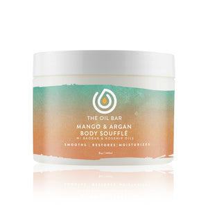 Mango & Argan Body Souffle infused with CBD Oil
