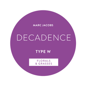 Marc Jacobs Decadence Type W